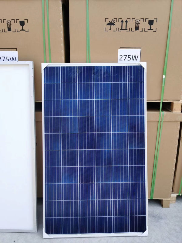 Mono / Poly 275W Solar Cell Panel 40% Sun Transparency TUV CE Certificate