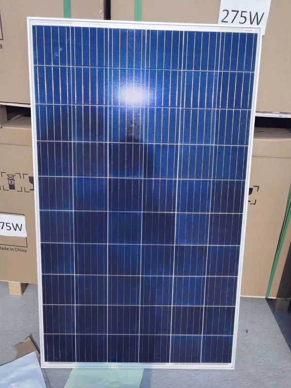 IP67 Protection Level Mono Solar Panels Cell 275W Long Service Life
